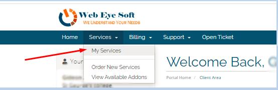 click on my service